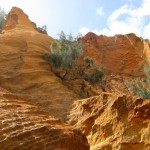Some of the spectacular sand formations at the Pinnacles