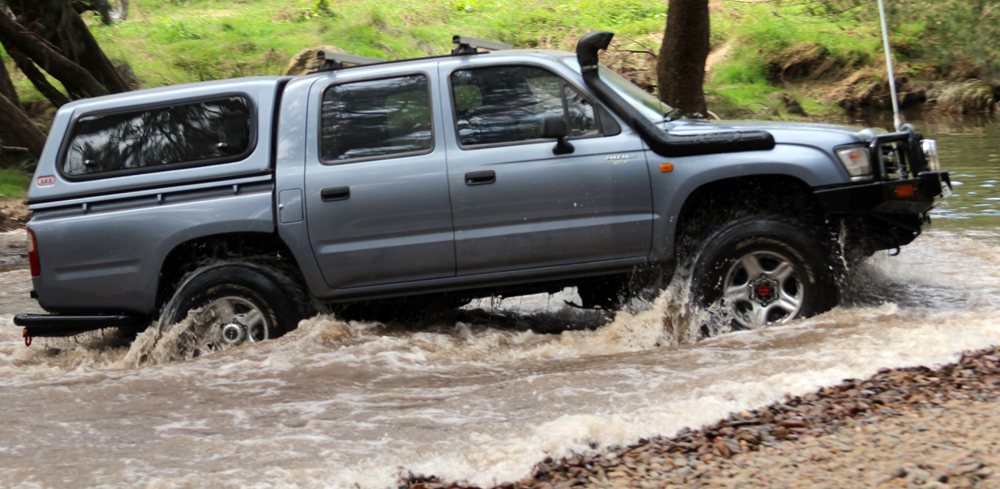 The 4×4 Guys » 1998 Toyota Hilux Review